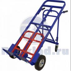 Тележка универсальная трансформер ТГУ-300  (г/п - 300 кг, колеса 250мм пневмо или литая резина на выбор)