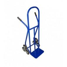 Тележка для подъема груза по лестнице (лестничная)  КГЛ-200 (г/п - 200 кг, колесные блоки из 3х шт . 160мм, литая резина)
