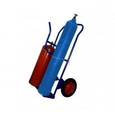 Тележка грузовая КП-2У (для перевозки двух баллонов, пропан + кислород, и газовых шлангов с аппаратурой)