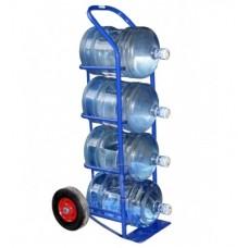 Тележка грузовая двухколесная ВД-4 (для перевозки 4х бутылей с водой)
